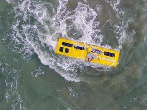 Projektabschluss: Prototyp läuft in Nordsee Strom aus Meereswellen